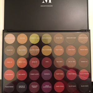 Morphe Makeup - PRICE DROP NWT morphe eyeshadow Boss mood sexy var